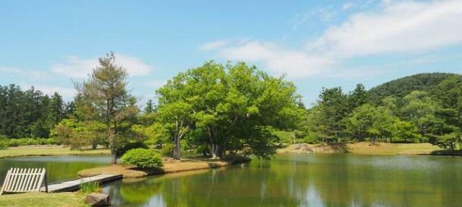 奥州平泉観自在王允跡の庭園