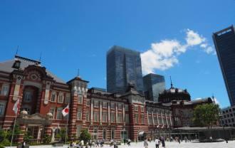 東京駅の風景写真