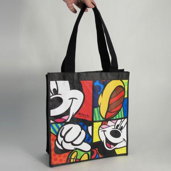 Mickey Mouse Tote Bag Romero Britto - Artreco