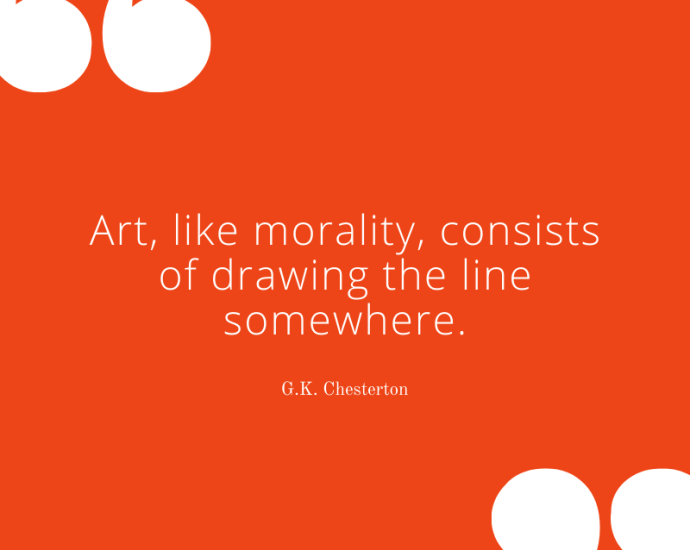 Art Quotes: G. K. Chesterton on Art and Morality