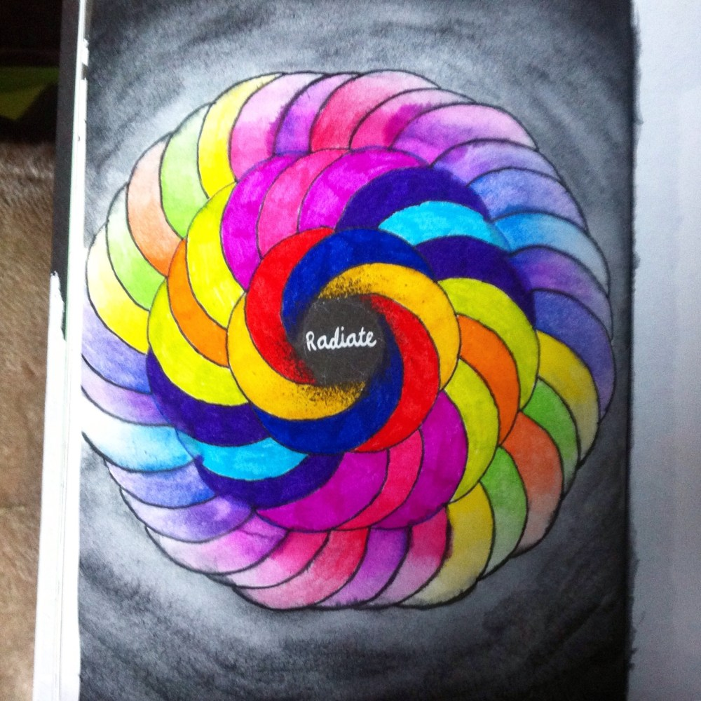 Anti Journal, Personal Art Journal and.... The Mindfulness Colouring Book (4/6)