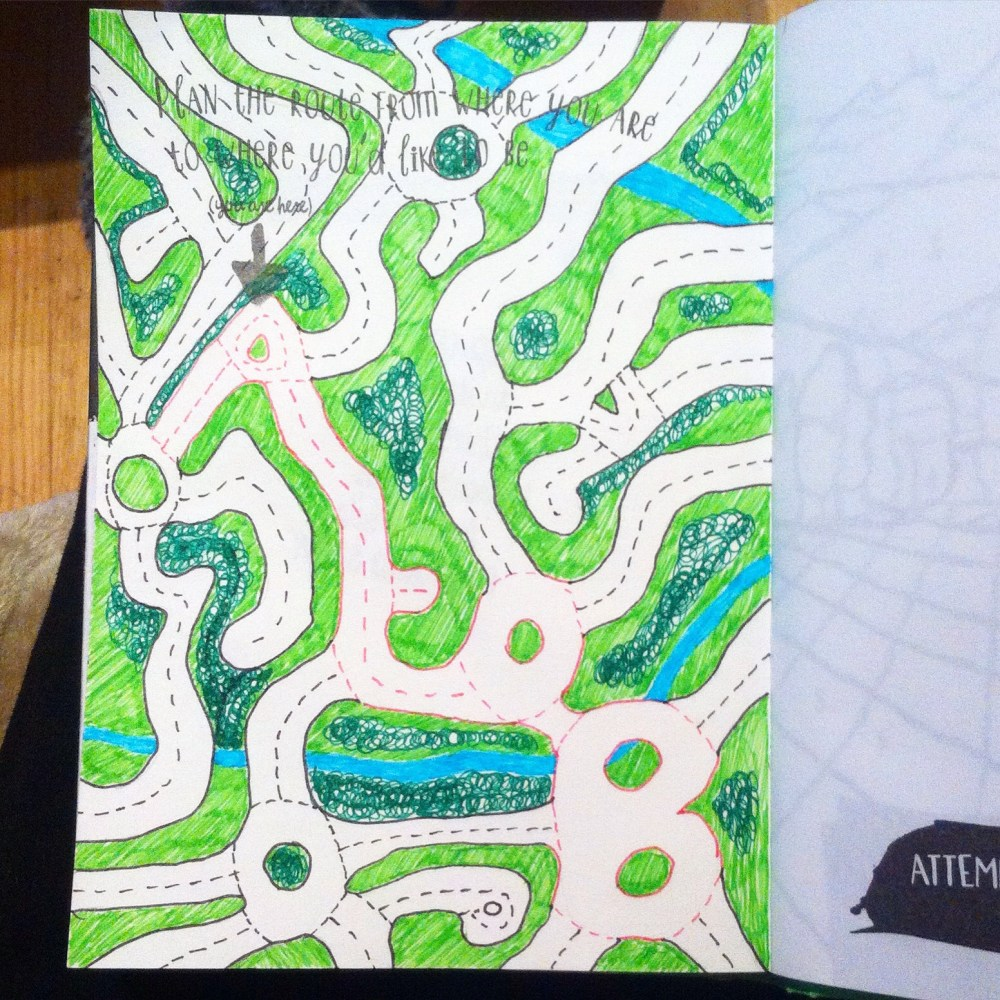 Anti Journal, Personal Art Journal and.... The Mindfulness Colouring Book (5/6)