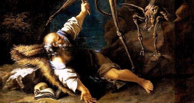 """OBRAS INQUIETAS 36. """"As tentações de Santo Antônio"""" (1646), de Salvator Rosa"""
