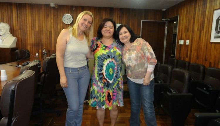 Silene, Lilian e Rosangela