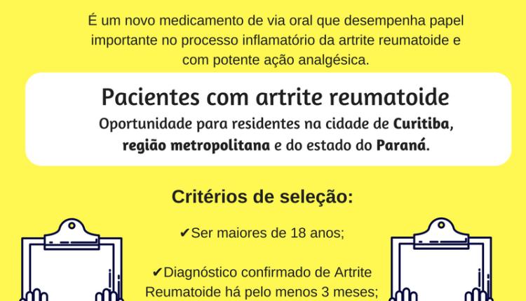 Pesquisa artrite EDUMED