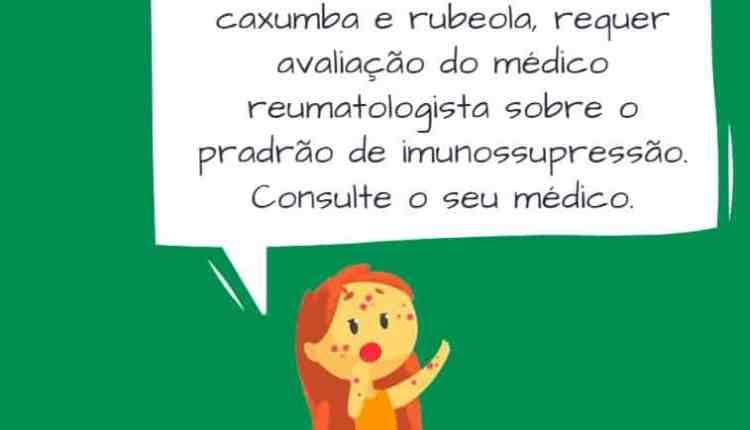 Vacina Sarampo doença reumática