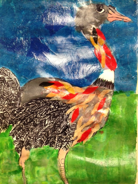 Animal Collage : animal, collage, Middle, Schooler's, Animal, Collage