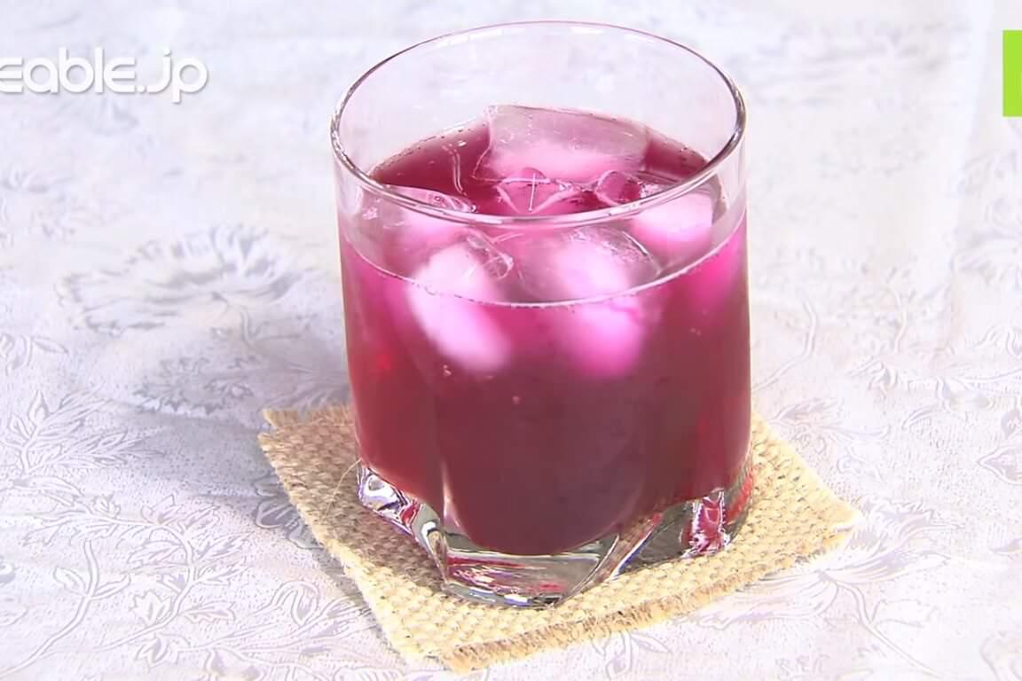 疲労回復や夏バテ予防に効果的!赤しそジュースの簡単な作り方・レシピ