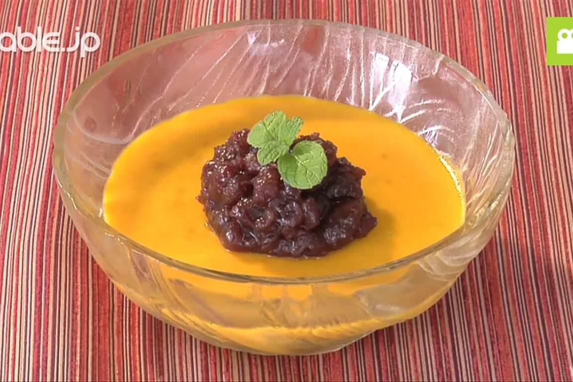 デザートにおすすめ!かぼちゃのミルクようかんの作り方・レシピ