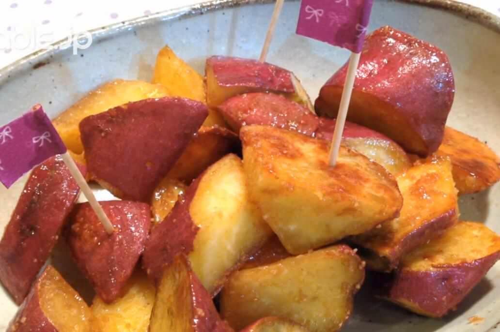 揚げないで簡単に作れる!おやつにも最適な大学芋の作り方・レシピ