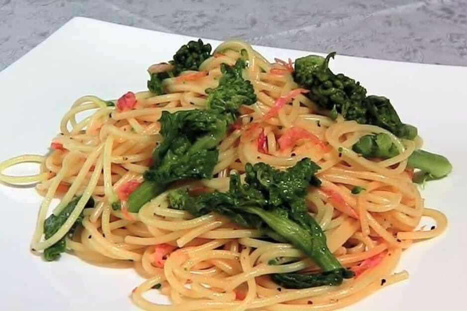 春の旬の味覚でイタリアン!菜の花パスタの簡単な作り方・レシピ