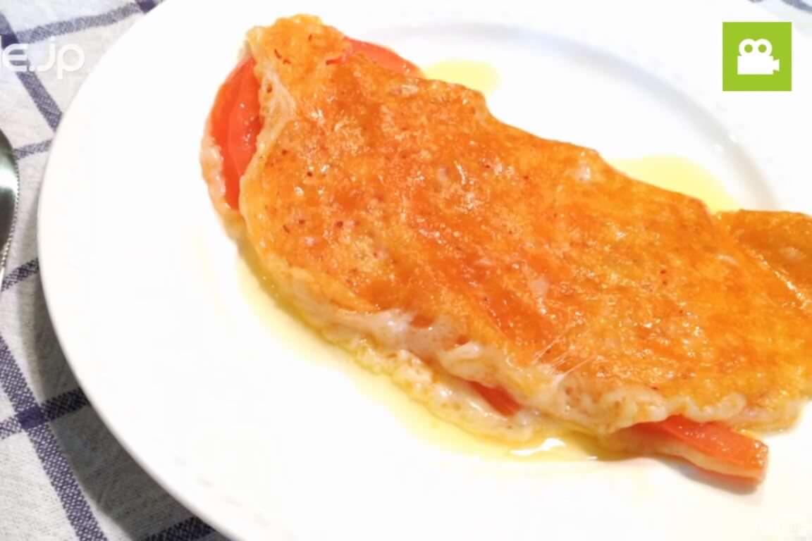 ワインにぴったりで美味しい!カリカリチーズトマトの作り方・レシピ