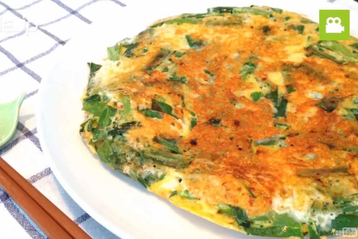 ピリ辛風味でとても美味しい!キムチーズチヂミの作り方・レシピ