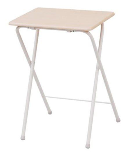山善(YAMAZEN) テーブル ミニ 折りたたみ式 サイドテーブル