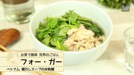 ベトナム料理の定番!絶品で最高なフォー・ガーの作り方・レシピ