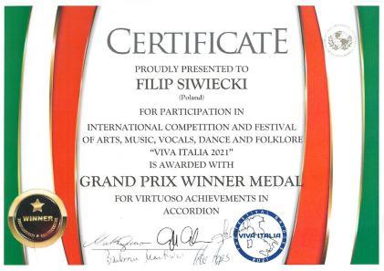 Italia 2021 Filip Siwiecki
