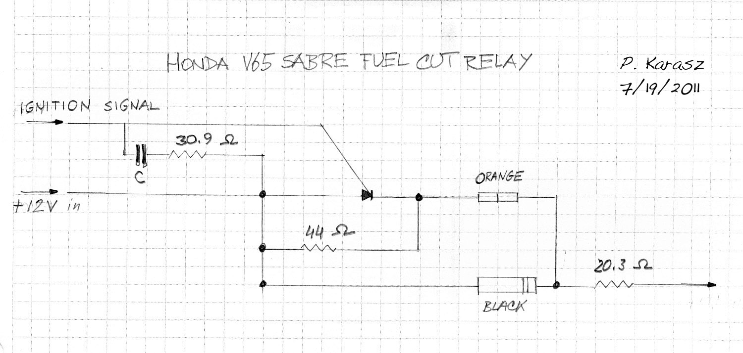 hight resolution of this is a schematic of the fuel pump relay for a v65 honda pete karasz