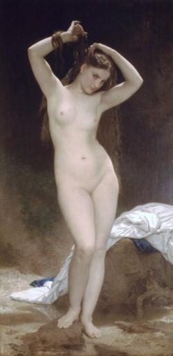 William Bouguereau. The bather