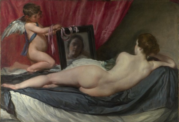 Веласкес Венера перед зеркалом