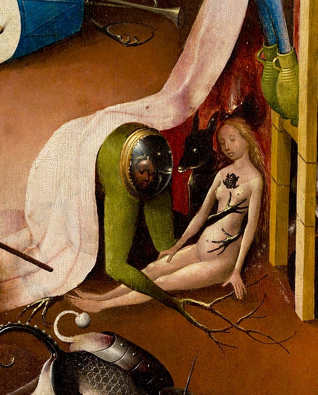 Босх грешница в аду