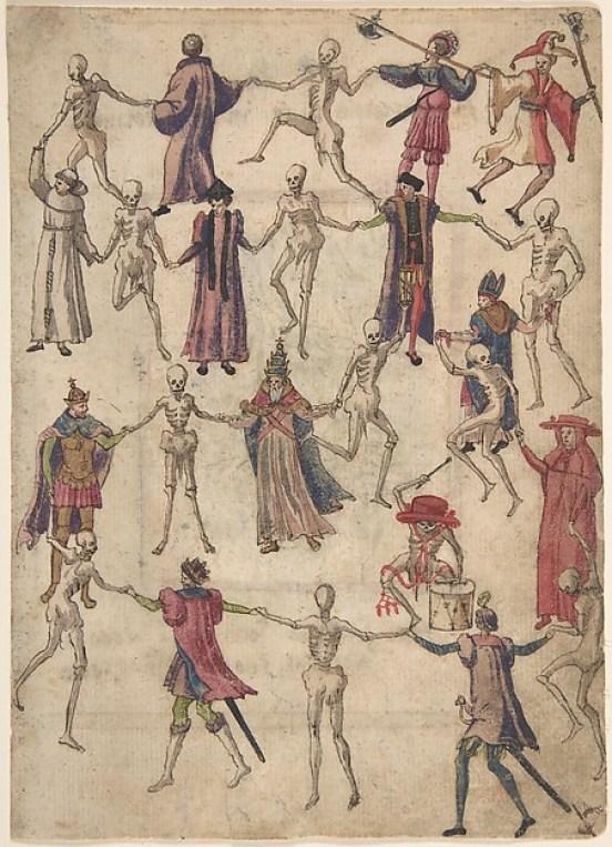 Средние века пляска смерти