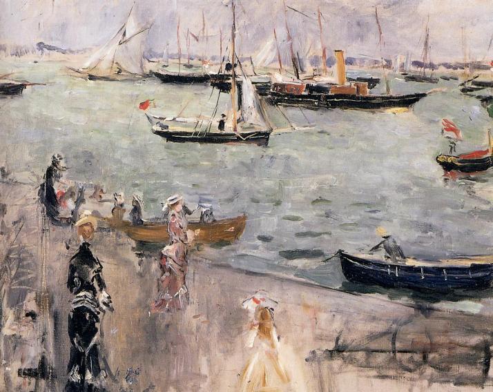 Картина Берты Моризо