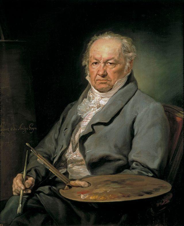 Портрет Франсиско Гойи