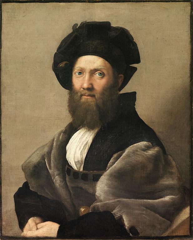 Рафаэль портрет Бальдассаре Кастильоне