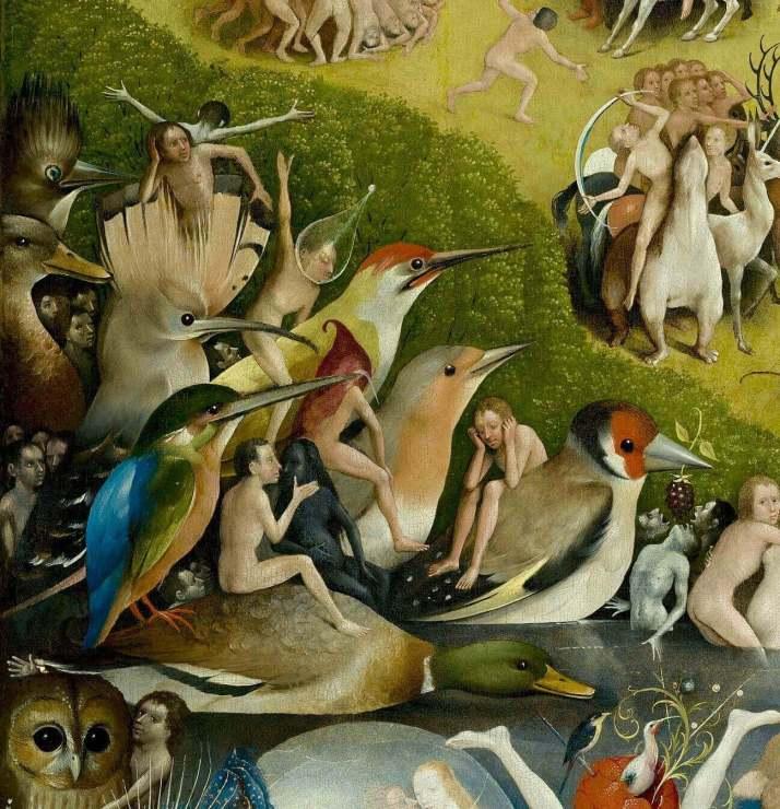 Босх птицы