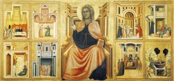 Святая Цецилия алтарь