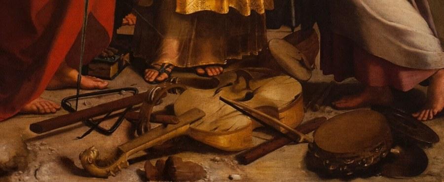 Рафаэль. Святая Цецилия (фрагмент)