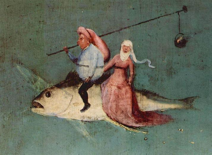 Босх летающая рыба