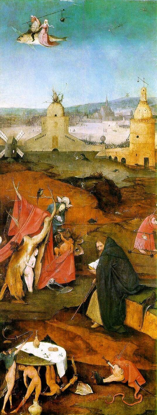 Босх святой Антоний и сладострастие