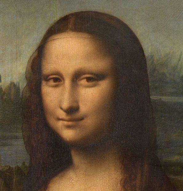 Мона Лиза леонардо фрагмент