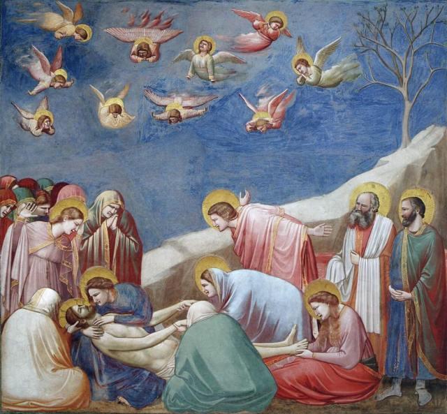 Джотто оплакивание христа
