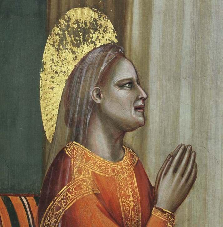 Джотто Благовещение святой Анне