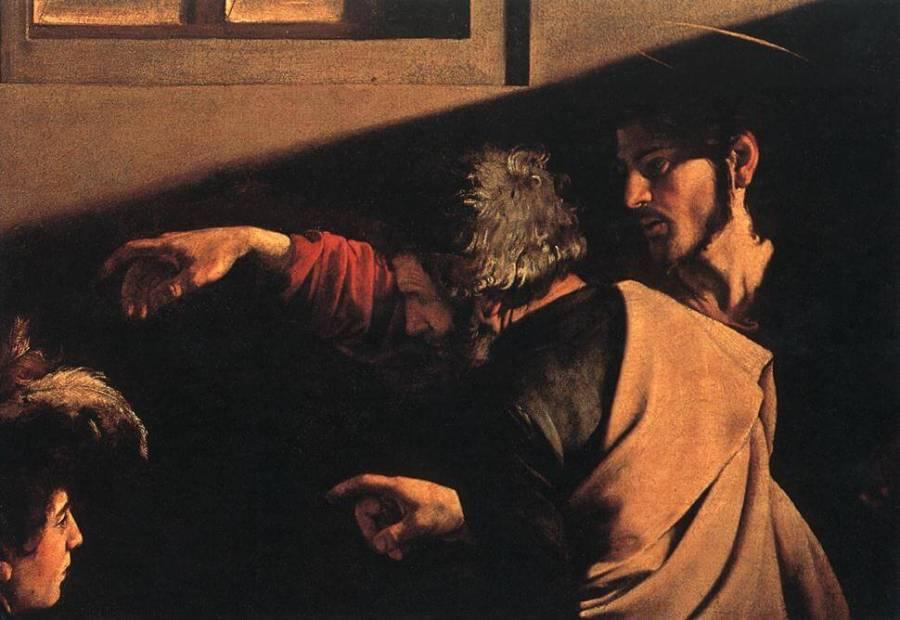 Караваджо призвание апостола Матфея