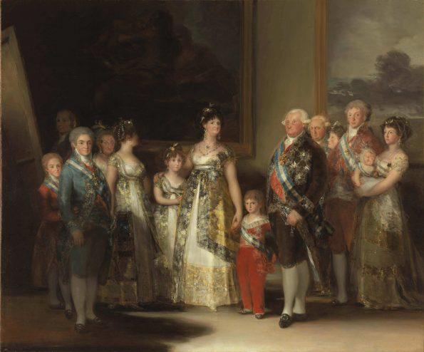 Гойя семья Карла 4