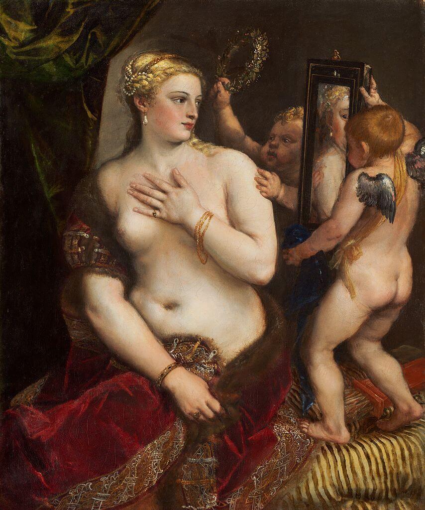 Тициан Венера перед зеркалом