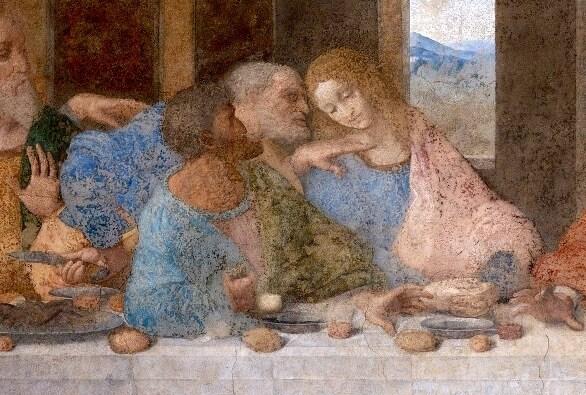 Леонардо да Винчи мария магдалина