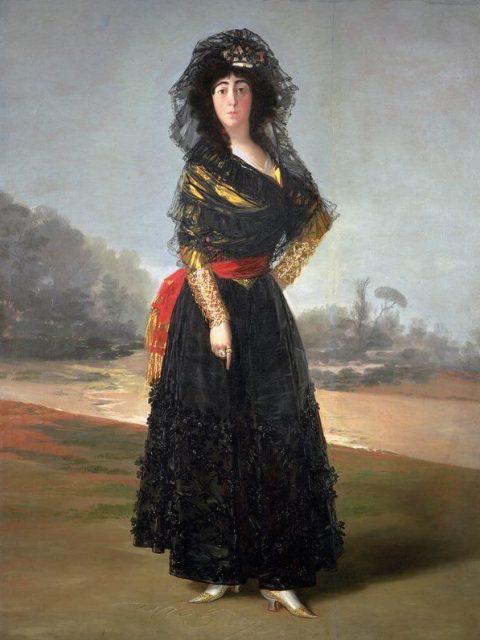 Гойя герцогиня Альба