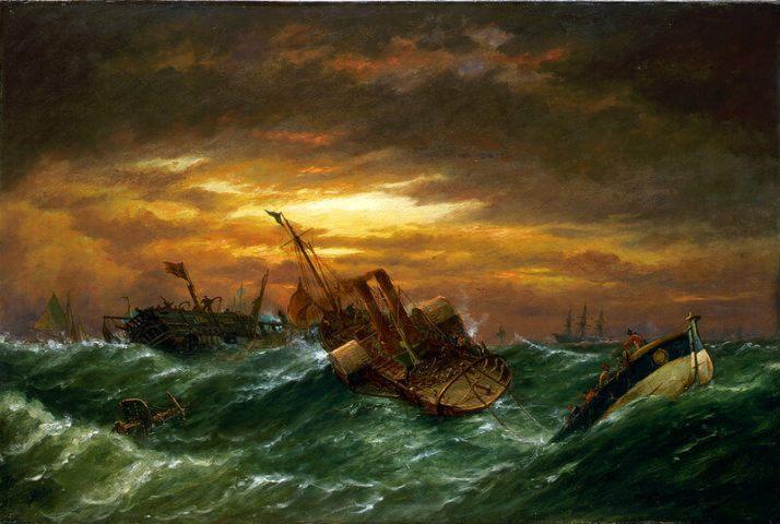 Нибс кораблекрушение