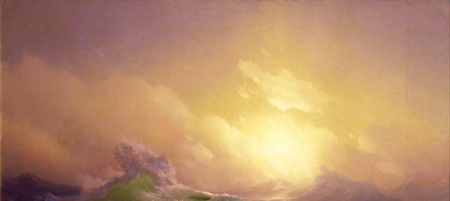Айвазовский Девятый вал небо