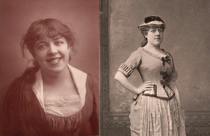 Фото Жанны Самари. 1876-1880 гг.