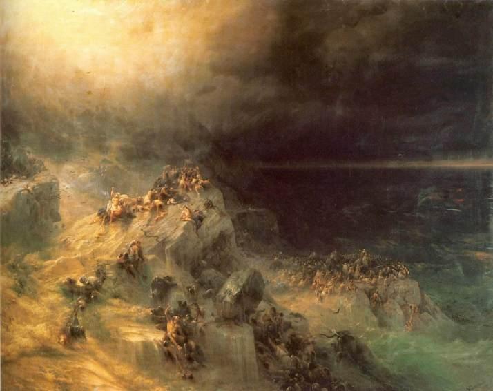 Айвазовский всемирный потоп