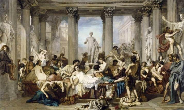 Кутюр римляне времён упадка