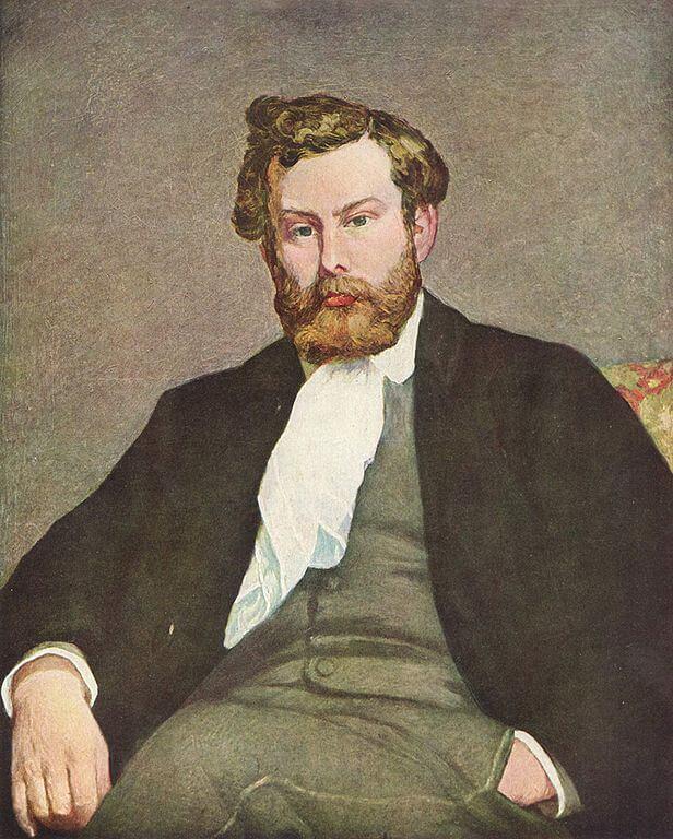 Ренуар портрет Сислея