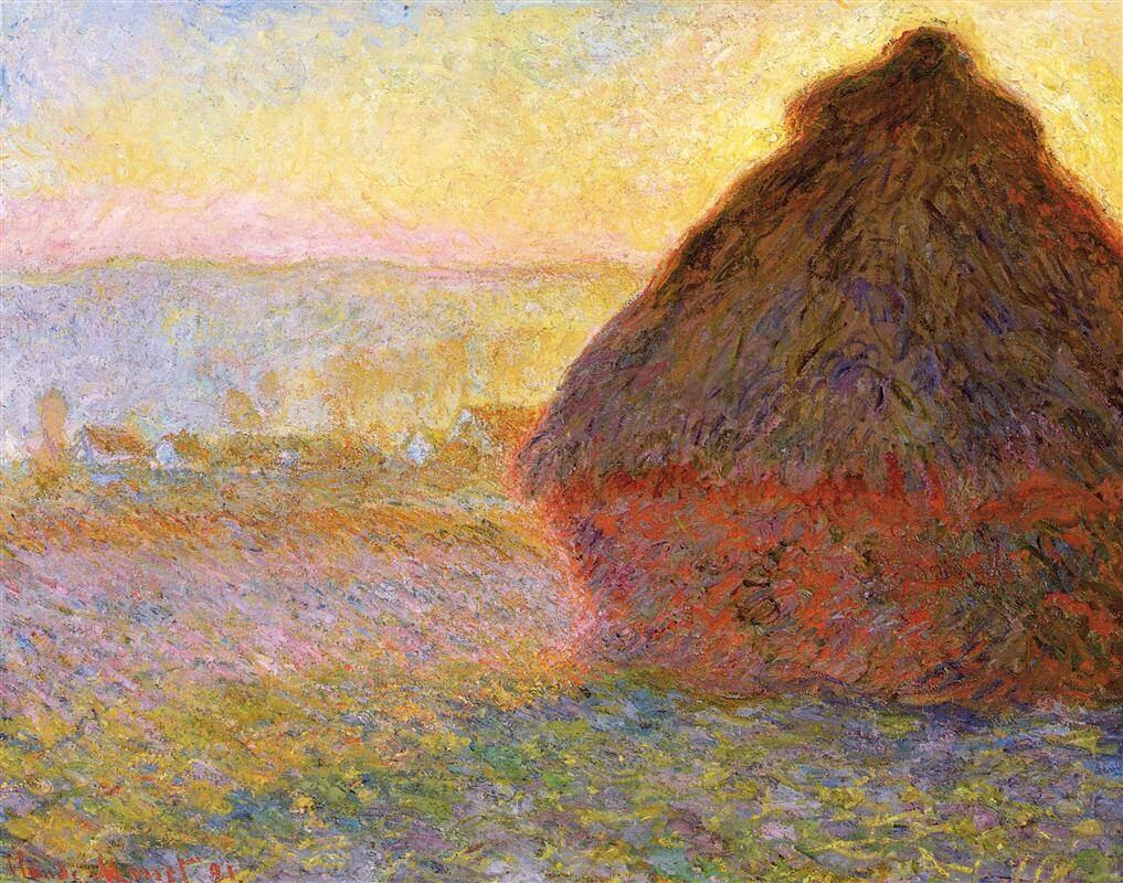 Обои Клод Моне, Пейзаж, картина. Разное foto 19