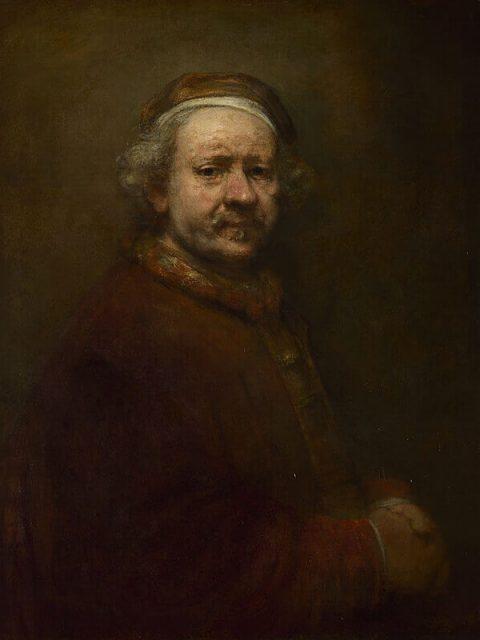 Рембрандт автопортрет 63 года