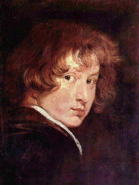 Ван Дейк автопортрет 1613 года